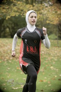 Shirin Gerami Iranian Triathlete